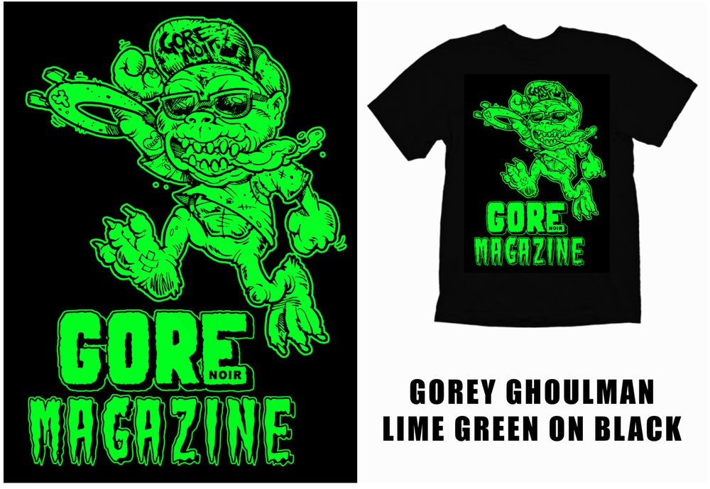 Image of Limited Edition Gorey Ghoulman Shirt