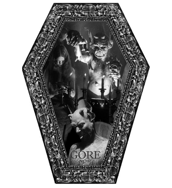Image of Corpse Paint/Black Metal/Satanic Panic Coffin Shaped Issue Limited Edition