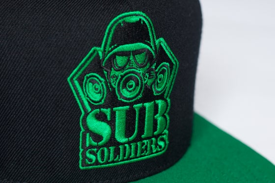 Image of Sub Soliders 'ANGRY GREEN' Snapback