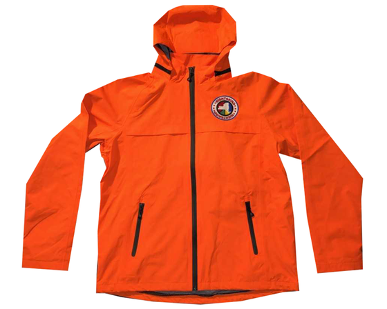 Image of Night Grind Orange Tech Windbreaker