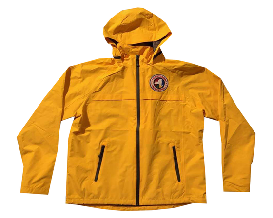 Image of Night Grind Yellow Tech Windbreaker