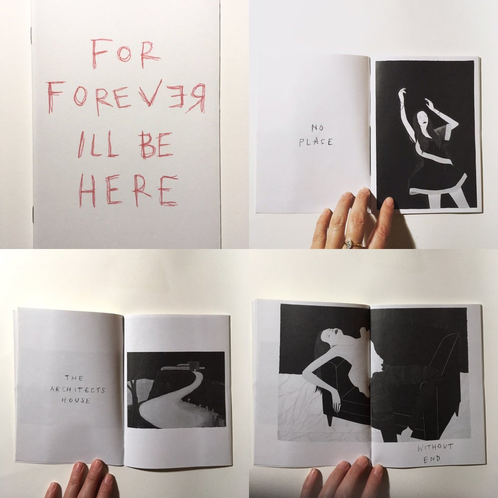 "Image of Marci Washington Zine ""For Forever I'll Be Here"""
