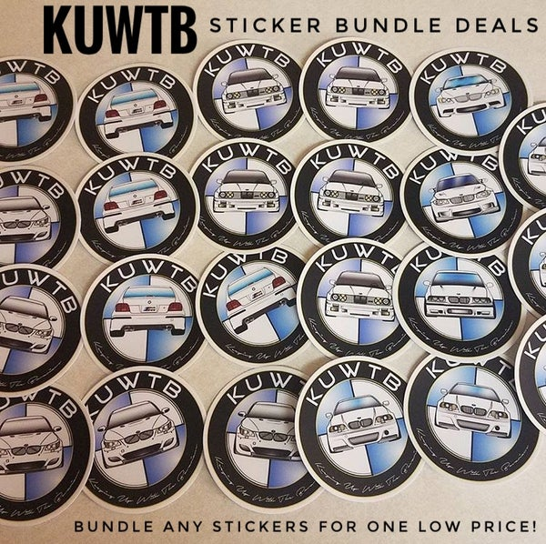 Image of KUWTB Sticker Bundles