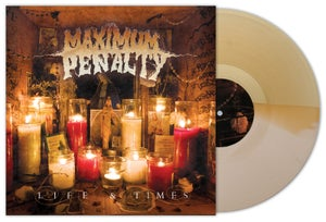 "Image of MAXIMUM PENALTY ""Life & Times"" LP Vinyl"