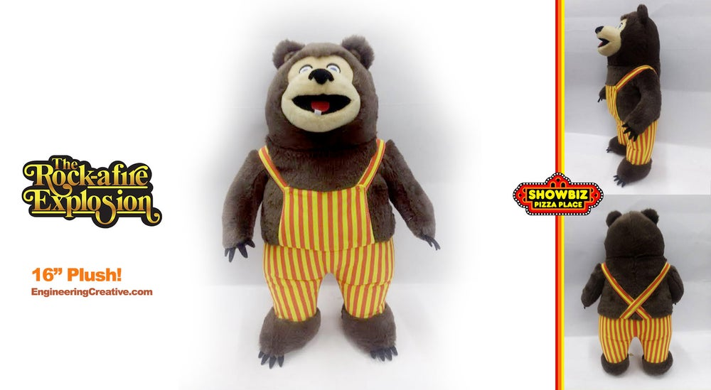 "Image of Billy Bob - Rock-afire Explosion 16"" fully plush doll!"