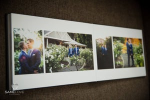 Image of Queensberry Flushmount Custom Wedding Album
