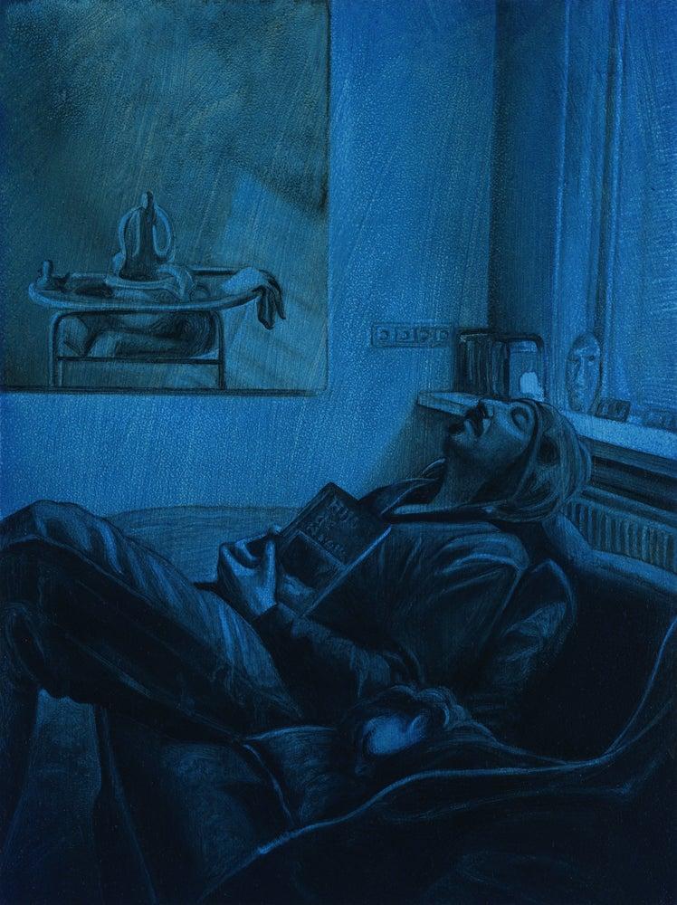 Image of PIGMENT #3, Cobalt Blue Hue