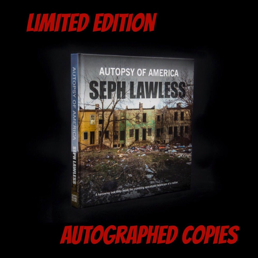 Image of AUTOGRAPH COPY OF AUTOPSY OF AMERICA (HARDCOVER)
