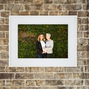 Image of 10x15 inch Portrait Mounted Print (Unframed)