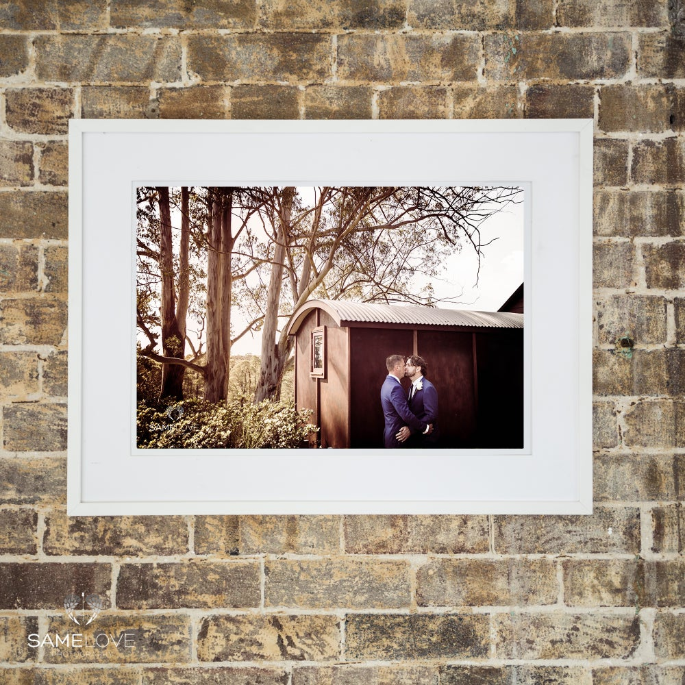 Image of 12x18 inch Portrait Mounted Print (Unframed)