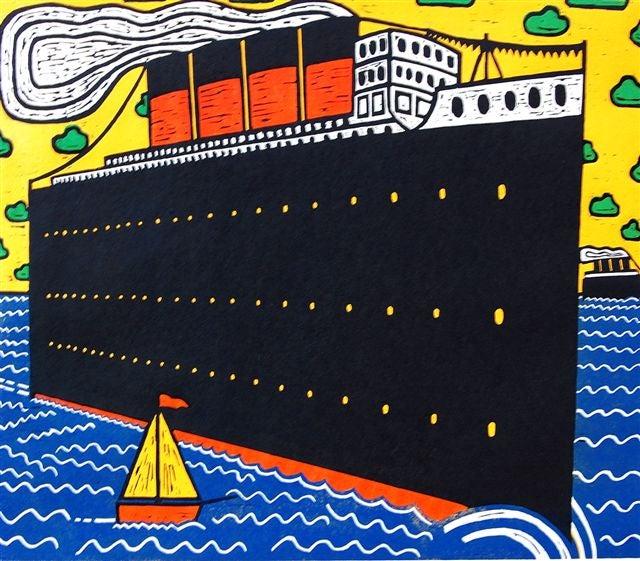 Image of Ships at Sea