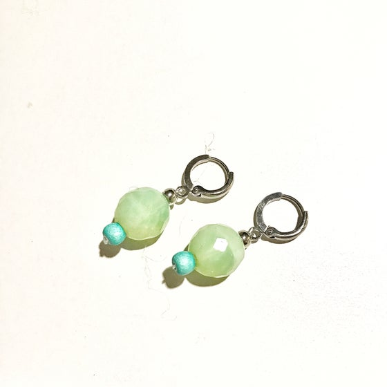 Image of AGATE EARRING