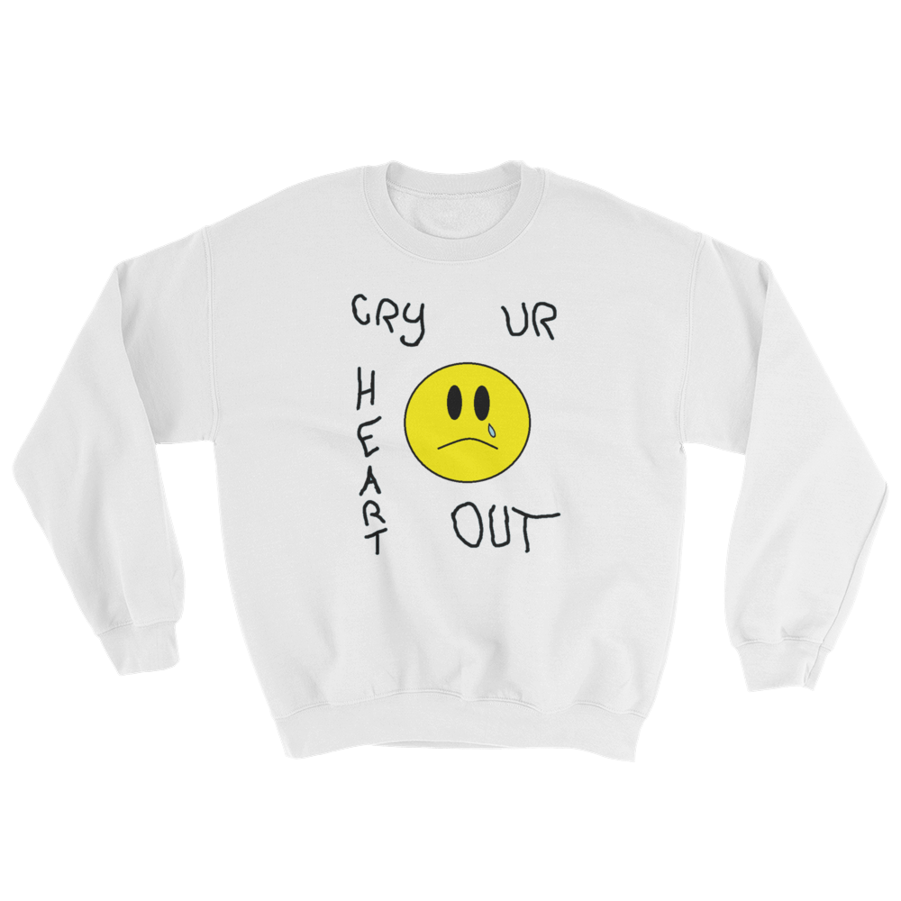 Image of Cry Ur Heart Out White