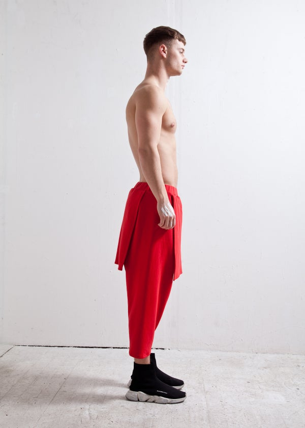 SAMURAI TROUSERS (red)