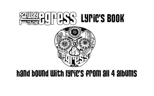 Image of Collectors: Hand bound LYRICS book