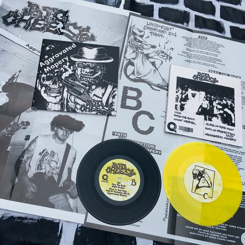 "Image of Big Cheese 'Aggravated Mopery' 7"" UKHC NWOBHC"