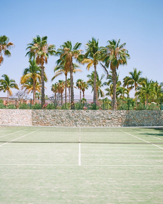 Image of tennis court
