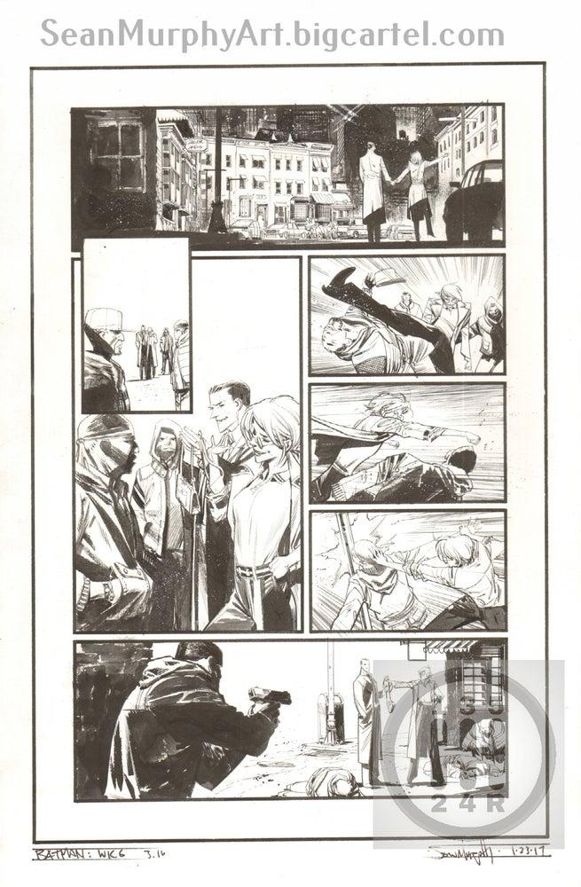 Image of Batman: White Knight #3, page 16