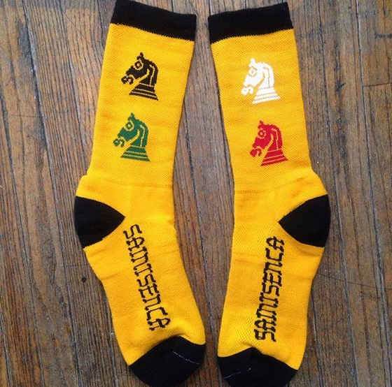 Image of WOw! L@@K!! R@RE!! misprinted socks!
