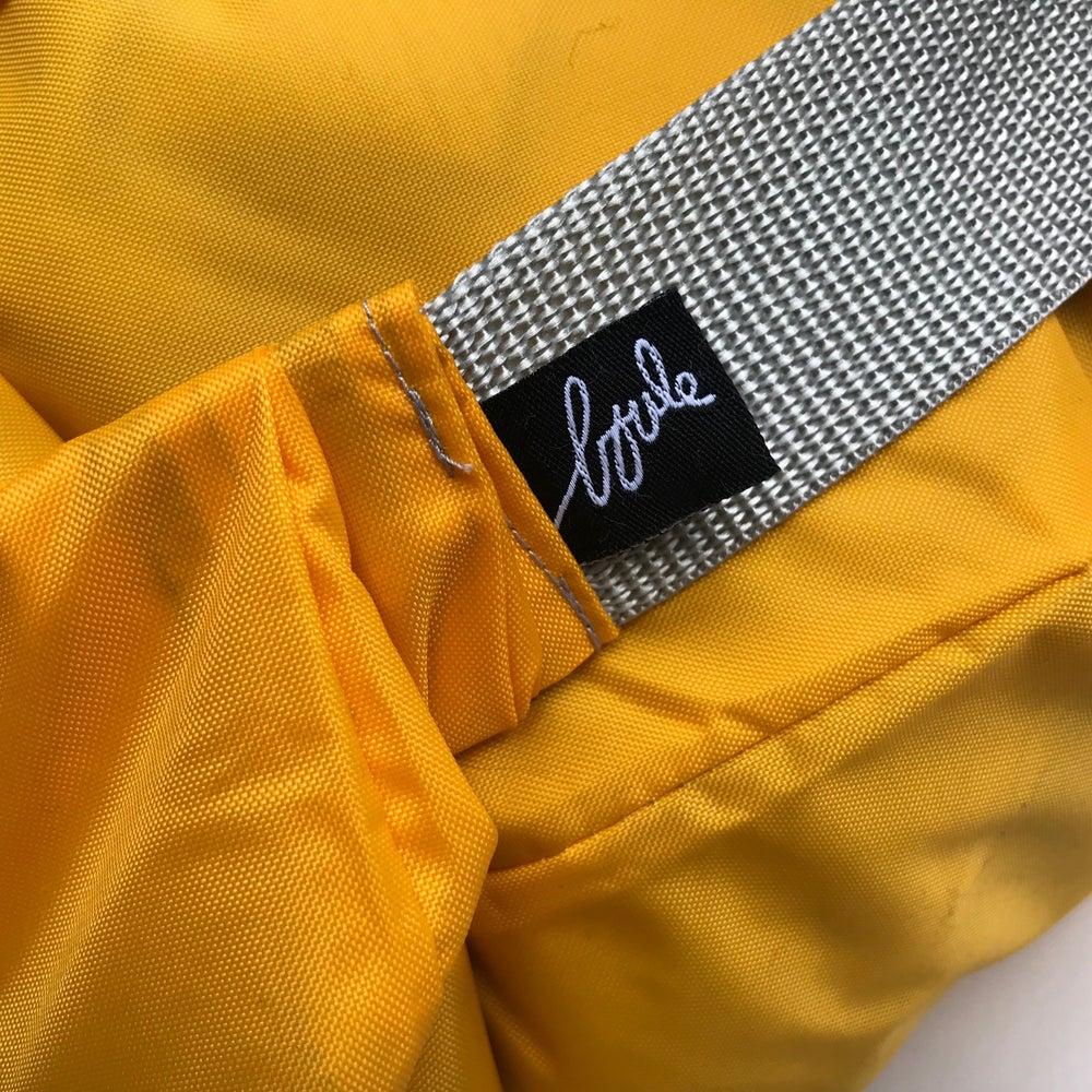 Image of Nylon moutarde - zip