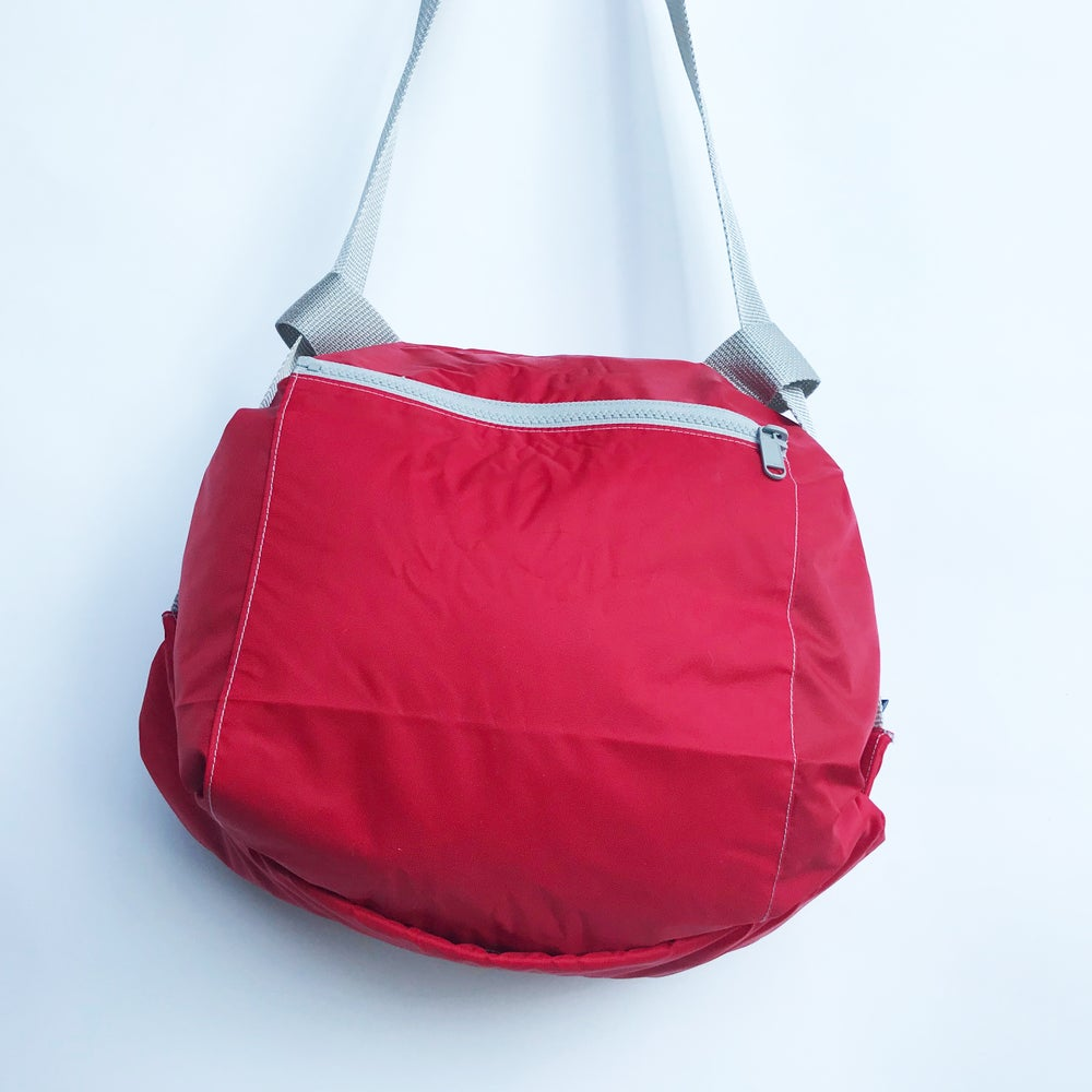 Image of Nylon rouge - zip