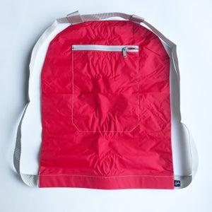 Image of Nylon rouge - zip