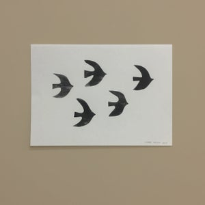 Image of A4 poster 'Birds'