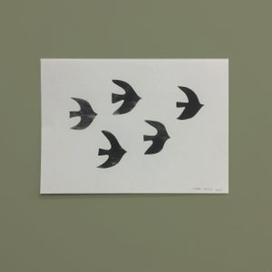Image of A3 poster 'Birds'