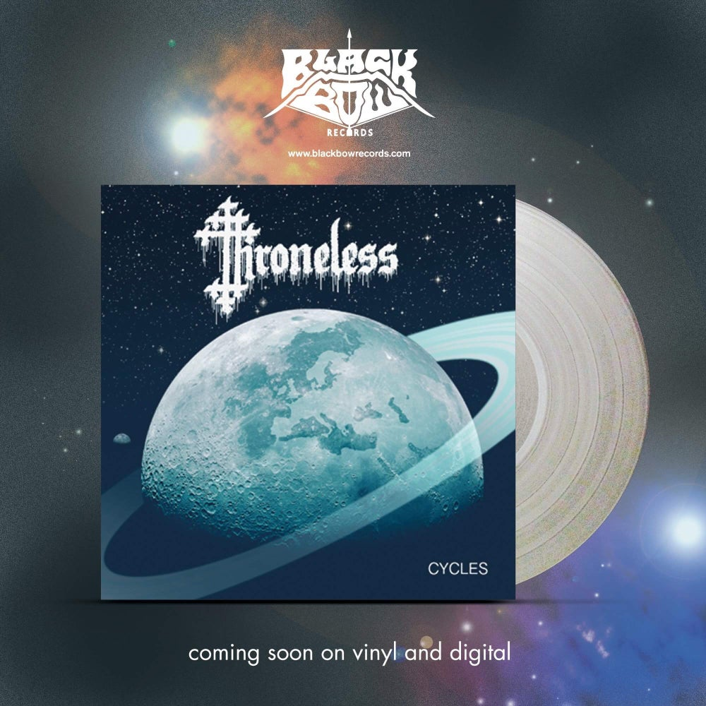 """Image of THRONELESS - CYCLES 12"""" PRE ORDER"""