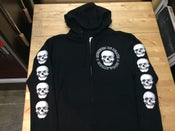 Image of M.O.Demon Zip Up Hoodie- Black