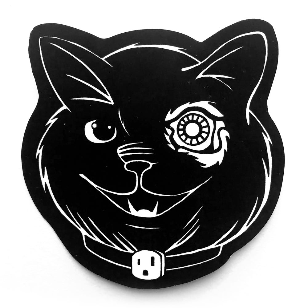Image of Outlet Kitten Sticker