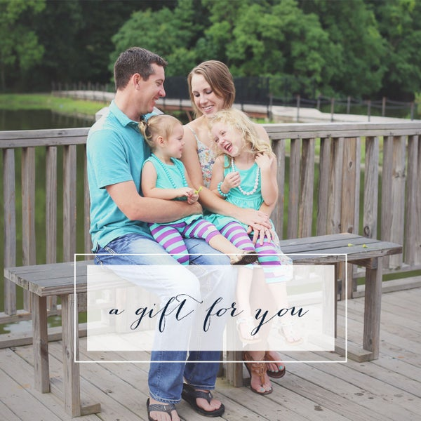 Image of Family Session Gift Certificate