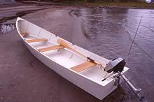 """Image of """"Pamet Blue"""" Boat Plans"""