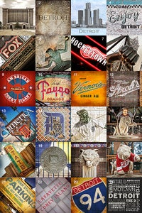 Image of Motorcity Coasters (Set of 6)