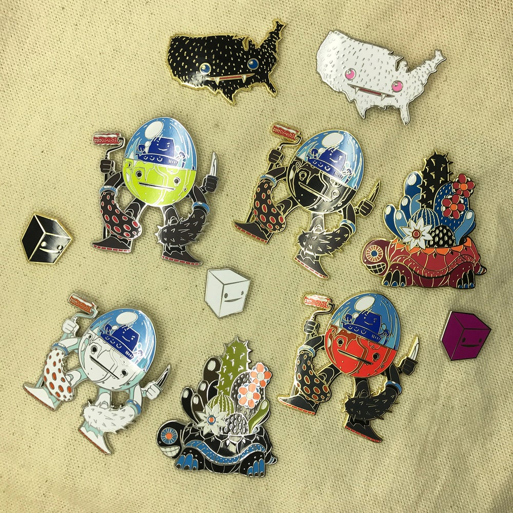 Image of Series 2 Complete Pin Set