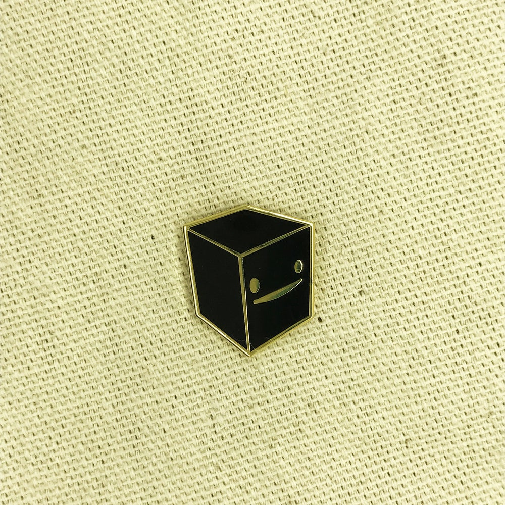 "Image of Series 2 ""Black Cube"" Pin"