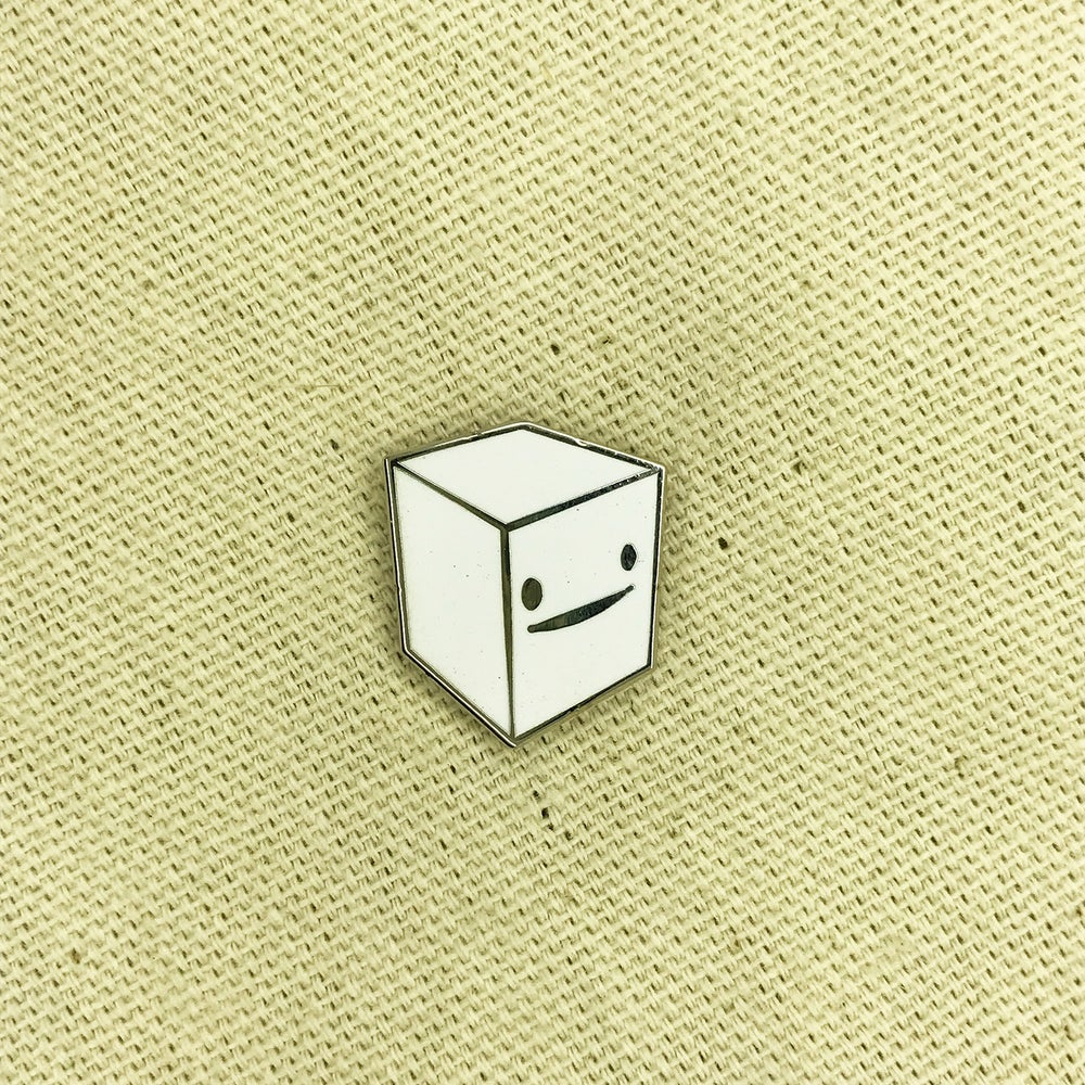 "Image of Series 2 ""White Cube"" Pin"