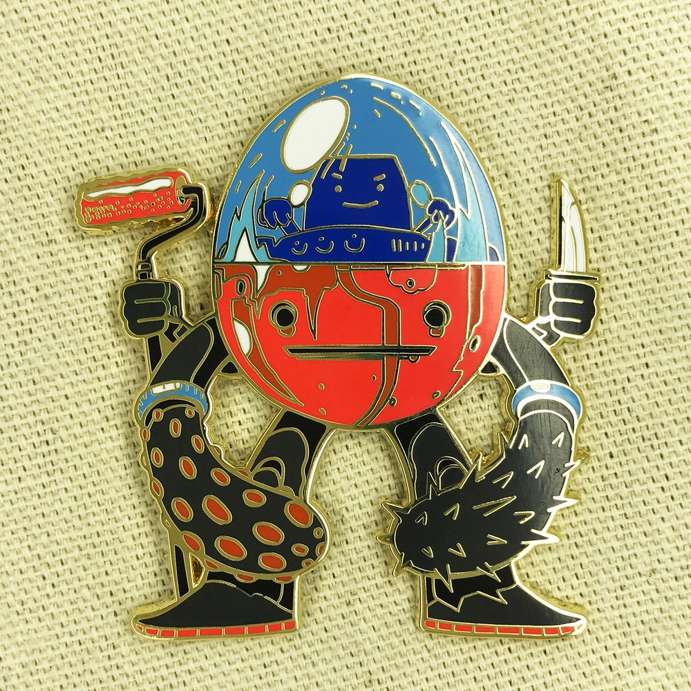 "Image of Series 2 ""Lava Walker"" Pin"