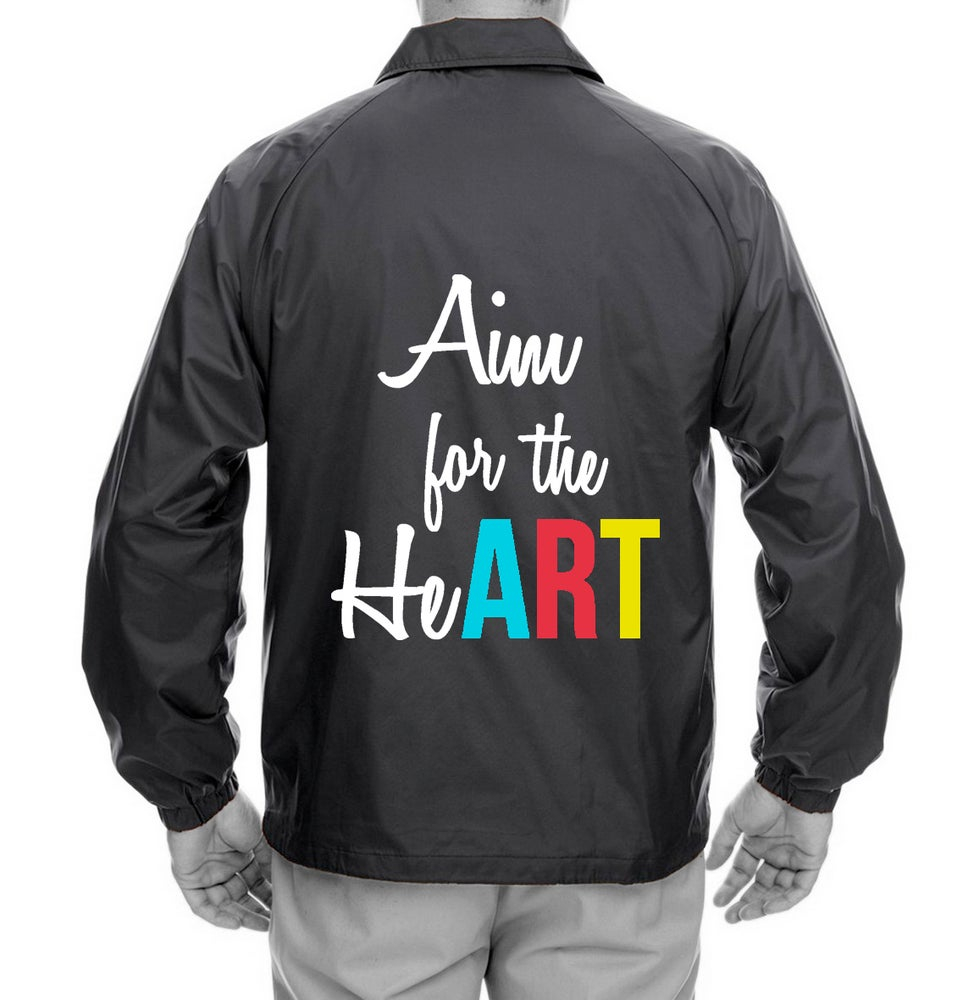 Image of AimForTheHeART Coach's Jacket