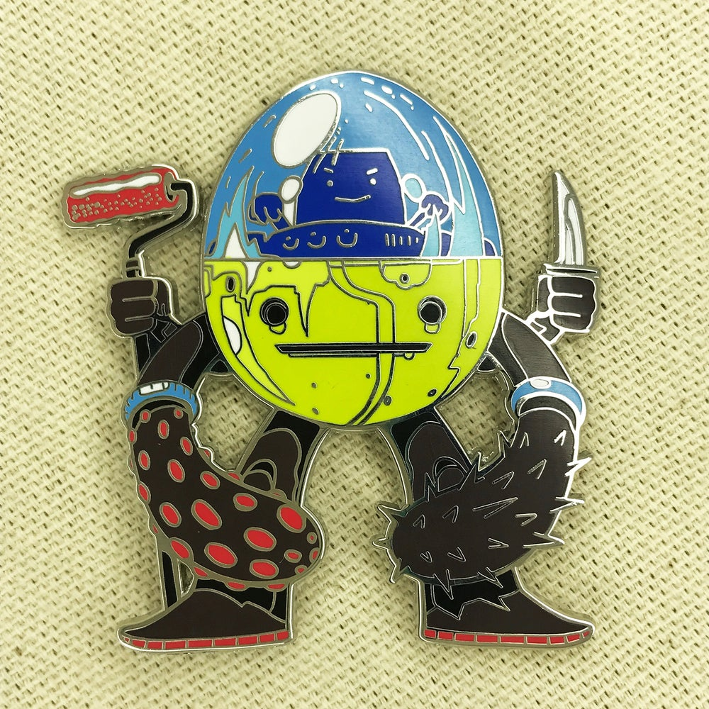 "Image of Series 2 ""Bog Walker"" Pin"