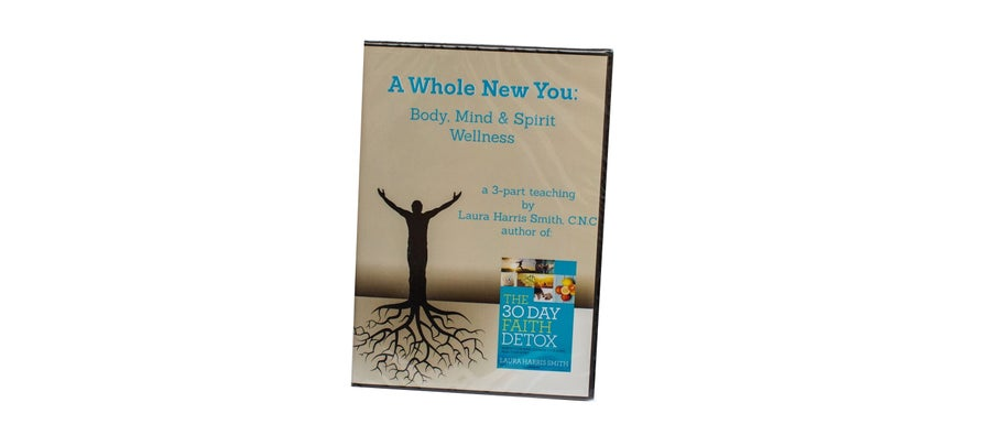 Image of A WHOLE NEW YOU | 3 PART AUDIO TEACHING