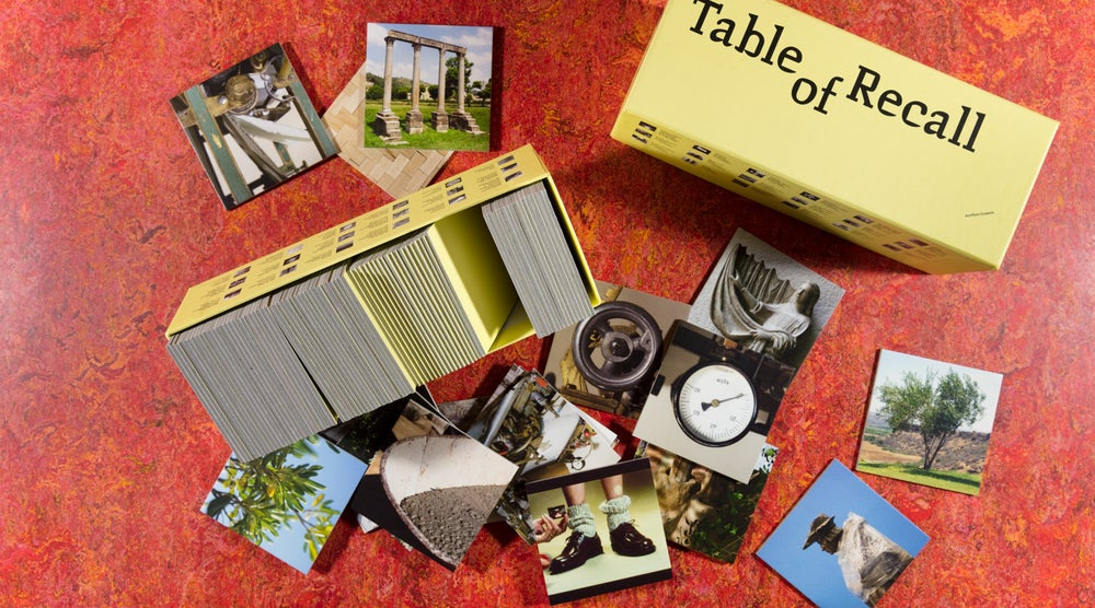 Image of Table of Recall <br/> — Aurélien Froment