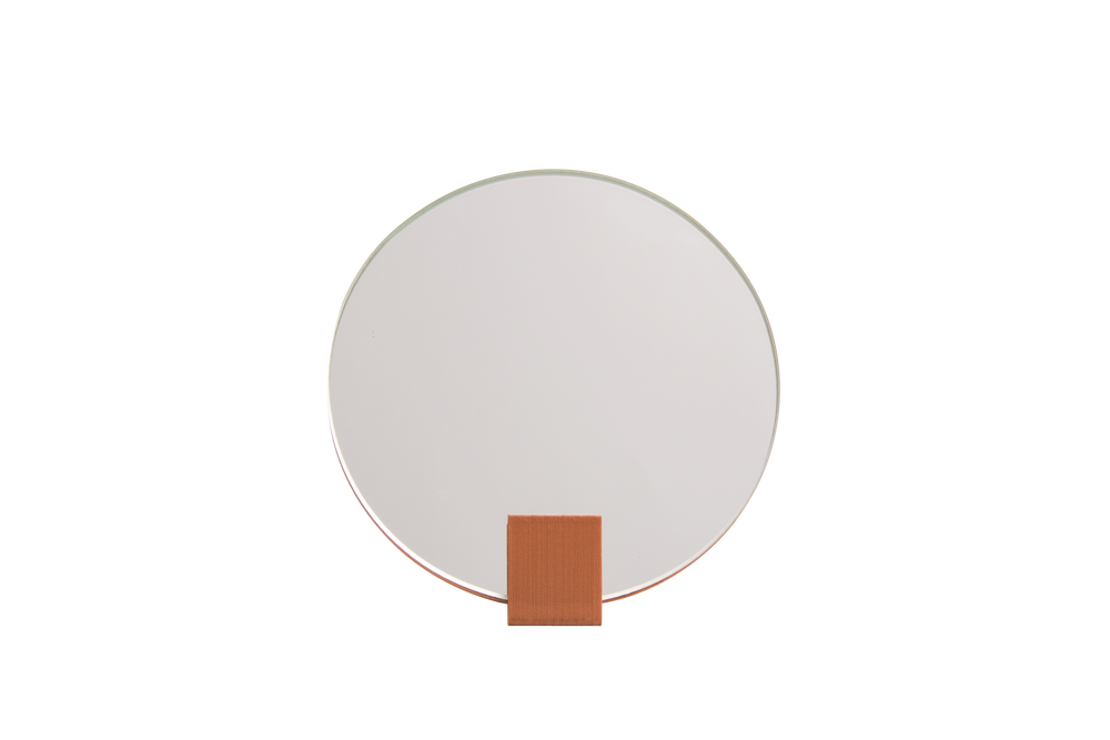 Image of NEW!  Mirror.step - Terracotta