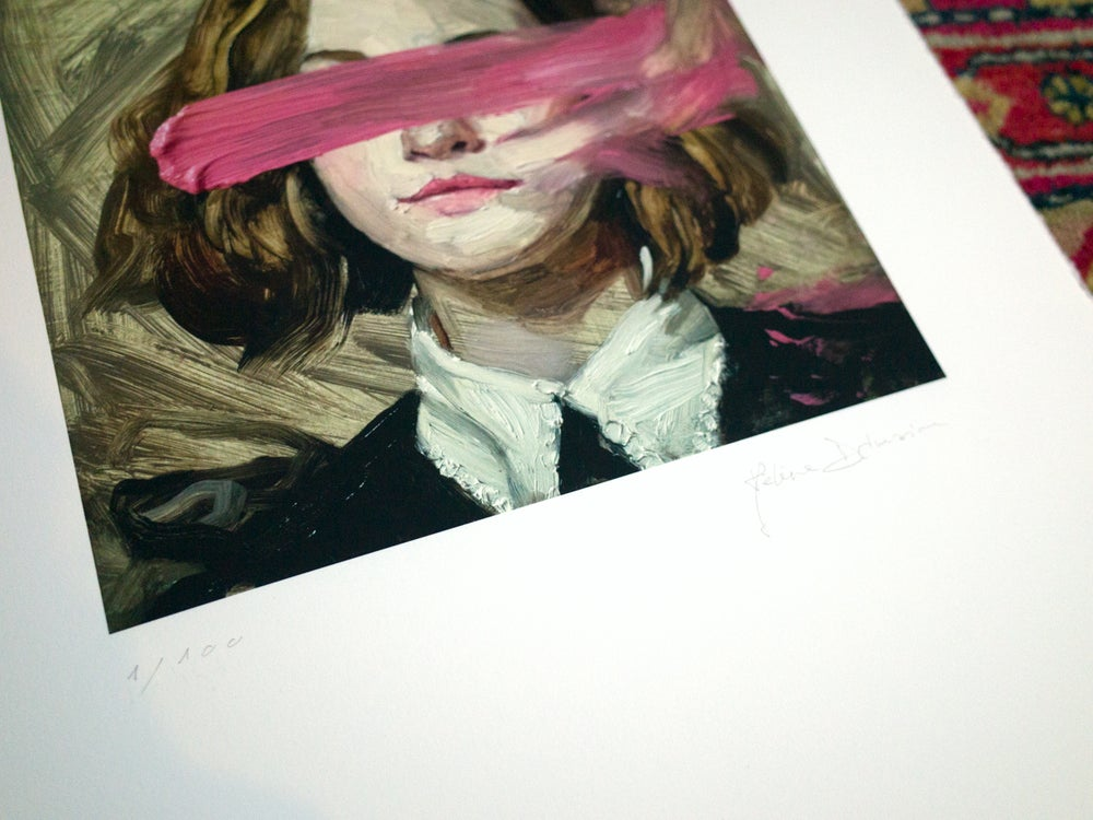 Image of Eyeless girl limited edition print #1