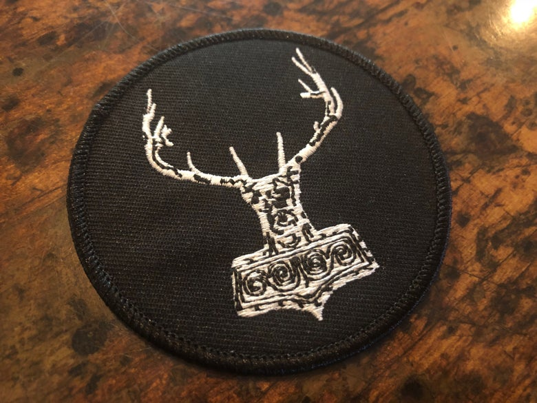 Image of Round HammerHeart Patch