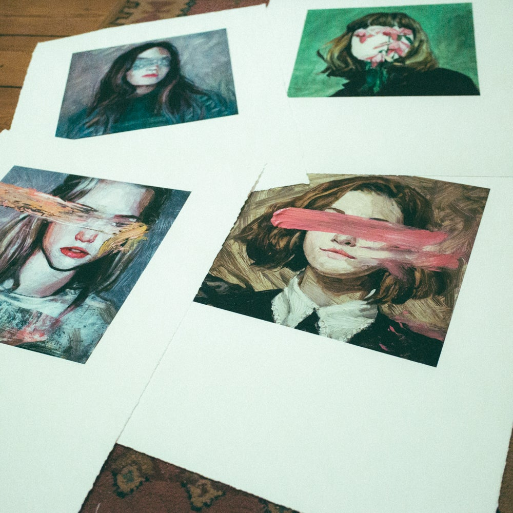Image of Eyeless girl limited edition print #2