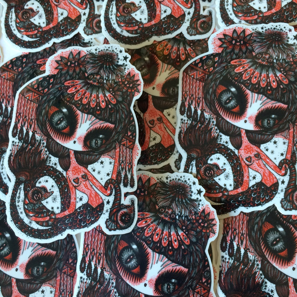 Image of Japanese creature stickers