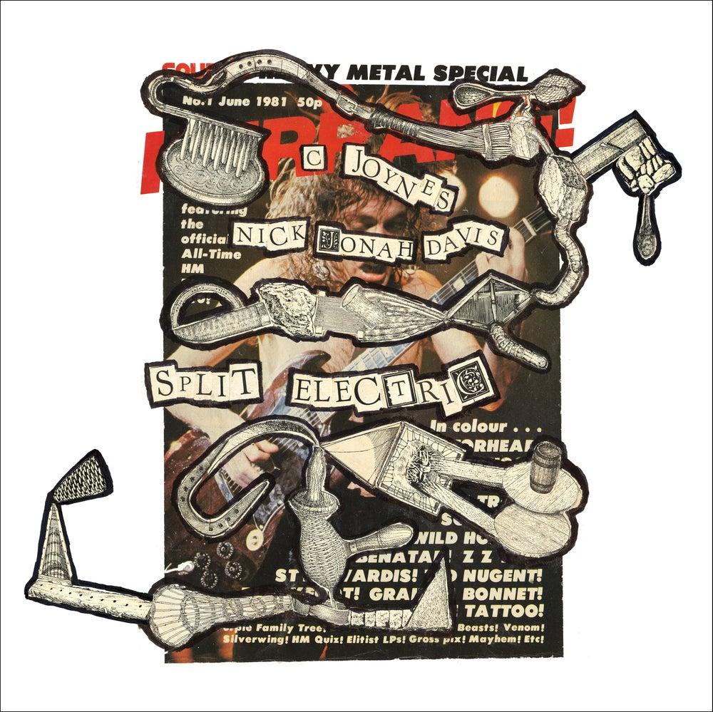 Image of <small>002</small><br><small>C Joynes / Nick Jonah Davis</small><br><i>Split Electric</i> (LP)