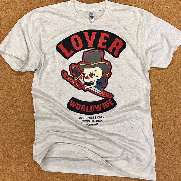 Image of The LOVER Worldwide Biker Tee