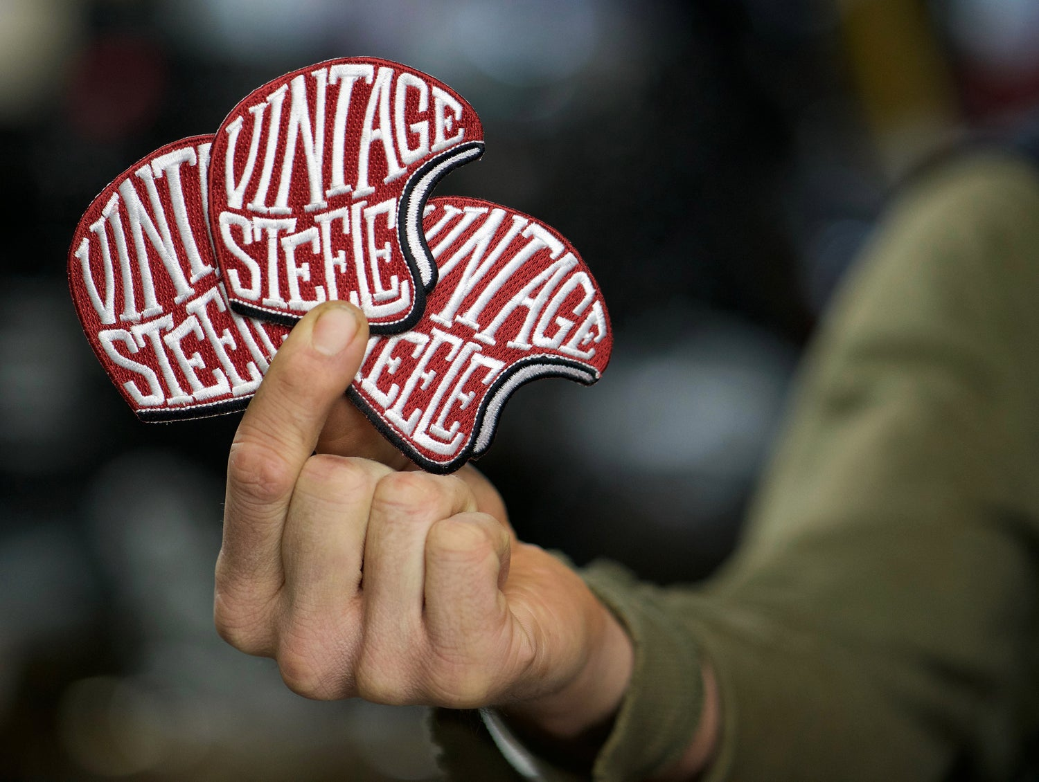 Image of Vintage Steele Patch
